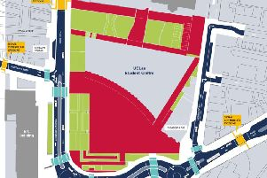The layout of the highways scheme to transform the Adelphi Quarter