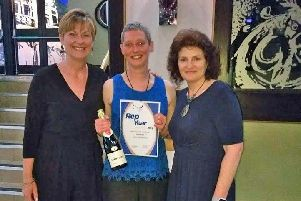 Sarah Bunting, Critical Care Outreach Physiotherapist at Lancashire Teaching Hospitals, has beenawarded with the Union Steward of the Year Award