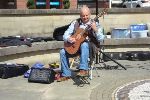 Classical guitarist Paul Molnar makes music at the Garstang Arts and Music Festival