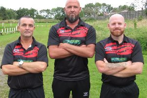 The new Garstang management team (l-r): Mike Hartley, Andrew Forsyth and Richard Cookney