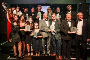 Last year's winners. Photo by Jim Fitton.