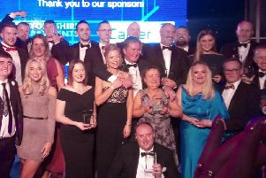 The winners of the Calderdale Excellence in Business Awards 2019.