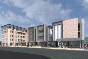How Halifax sixth form centre and Northgate House will look in the future (Picture LDN Architects)