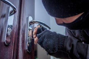 The attempted burglary happened in Queensbury