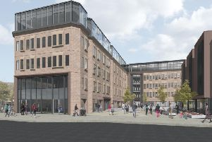 The proposed Northgate House development in Halifax town centre (Picture LDN Architects )