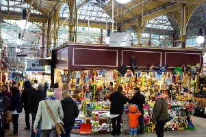 Calderdale markets have been praised in the fight against fake goods (stock image of Halifax Borough Market)