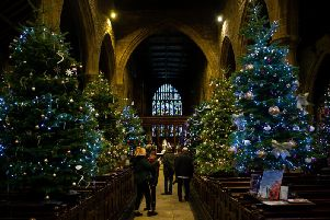 Christmas at Halifax Minster.