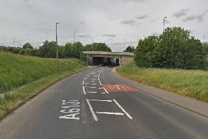 It happened on Clough Lane in Brighouse. Photo: Google Maps.
