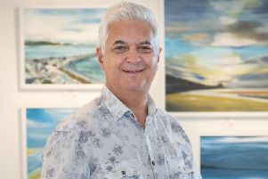 Gallery owner Steven Lord.