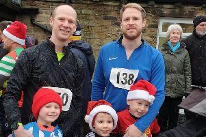 Stainland Lions' annual Boxing Day fun run