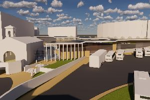 Proposed designs for the new 15.4m Halifax bus station