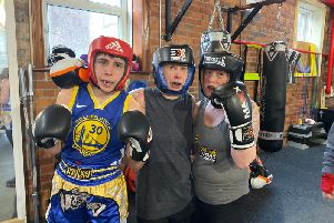 Boxing Academy's open day. Photo: Northern Powerhouse Boxing Academy