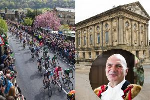 "Mayor of Todmorden says Tour de Yorkshire will be a ""fantastic boost for the town"""