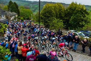 Riders on the Shibden Wall