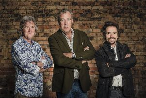 James May, Jeremy Clarkson and Richard Hammond in Amazon Prime's Grand Tour, one of the new 'smart shows' now available on your TV