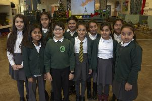 Song for Christmas: Beech Hill School, Halifax.