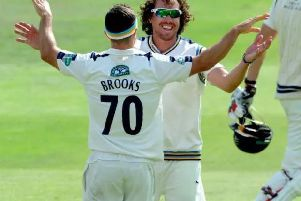 Ryan Sidebottom and Jack Brooks leading the attack for Yorkshire