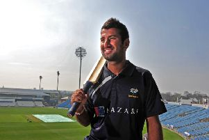 Cheteshwar Pujara: The India batsman is returning for a second spell with Yorkshire. (Picture: Tony Johnson)