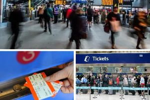 Train services are once again being affected by strike action across Yorkshire today.
