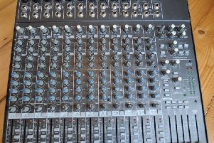 The stolen mixing desk