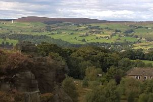 Walking in the glorious Ryburn Valley hills