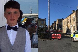 Jamie Brown, 17, died after being stabbed during a disturbance in East Park Road, Ovenden, on Saturday.
