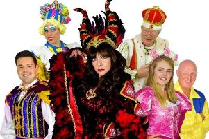 Sleeping Beauty in Castleford, starring 'Allo 'Allo and Emmerdale actress, Vicki Michelle.
