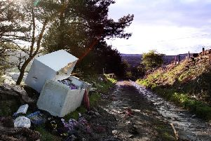 Improvements are being made to tackle fly tipping in Calderdale