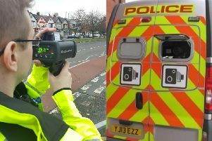 Mobile speed cameras