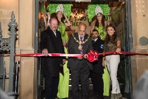 Deputy Mayor of Calderdale, Councillor Chris Pillai officially opened the venue