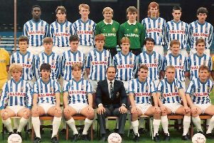 Halifax Town, 1986-87'Finished: 15th, Fourth Division