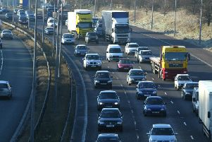 A crash has happened on the M62 at Ainley Top