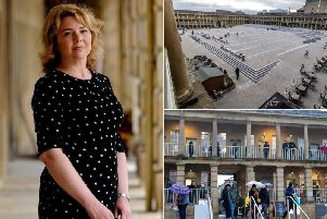 Chief Executive of the Piece Hall Trust, Nicky Chance-Thompson.