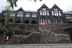 The former Cragg Vale Junior and Infant School