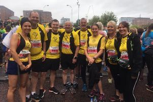 Northowram Pumas at the Liverpoool Rock 'N Roll Half Marathon