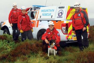 Calder Valley Search and Rescue Team based at Mytholmroyd