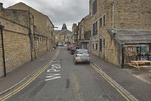 West Park Street in Brighouse