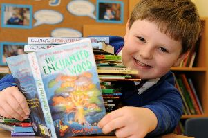 The Summer Reading Challenge is aimed at four to 11 year olds and the theme for this year is Space Chase