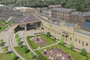 CGI of how Halifax train station could look in the future