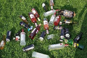 Alcohol seized by police (Picture by West Yorkshire Police)