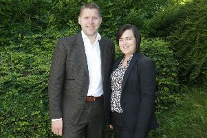 Chairman Gareth Henderson and Managing Director Colette Watts
