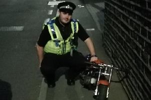 Mini Moto seized by police (Picture by Calder Valleys Neighbourhood Policing Team)