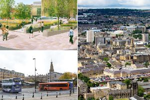 Funding is being sought for major plans which will change Halifax town centre