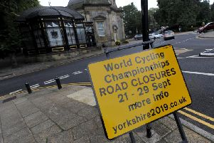 With just days to go, until the end of the UCI Road World Championships, we take a look at the remaining road closures in place for Harrogate, Ripon and the district.