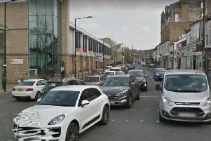 Harrogate's Kings Road, a congestion hotspot.
