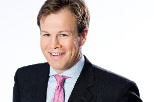 Coming to Harrogate - ITN broadcaster Tom Bradby.