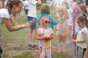 The North Yorkshire Colour Rush returns to Ripley Castle on October 27.