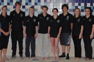The Harrogate Swim Club swimmers picked for the national championships in Sheffield. (S)