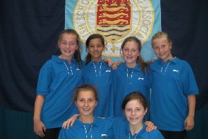 The Highfield Prep swimming team (s).