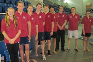 Harrogate squad ready for Ponds Forge tests